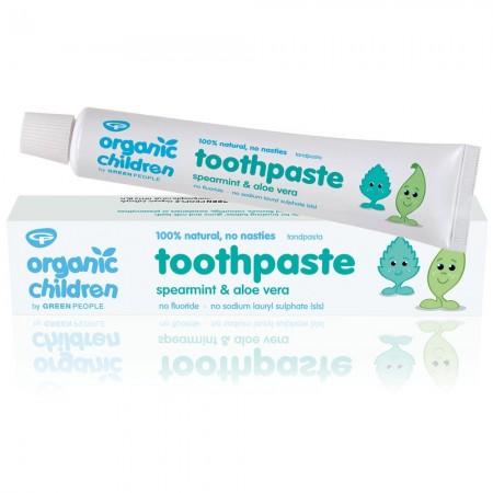Organic Babies Toothpaste Spearmint & Aloe Vera