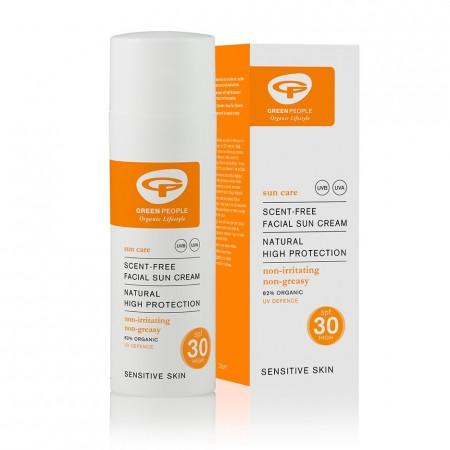Green People Facial Sun Cream SPF30 50ml
