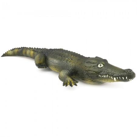 Green Rubber Toys Crocodile