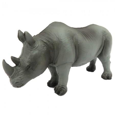 Green Rubber Toys Rhinoceros