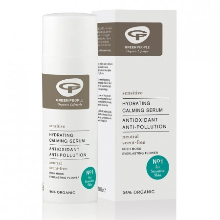 Green People Scent-Free Hydrating Calming Serum 50ml