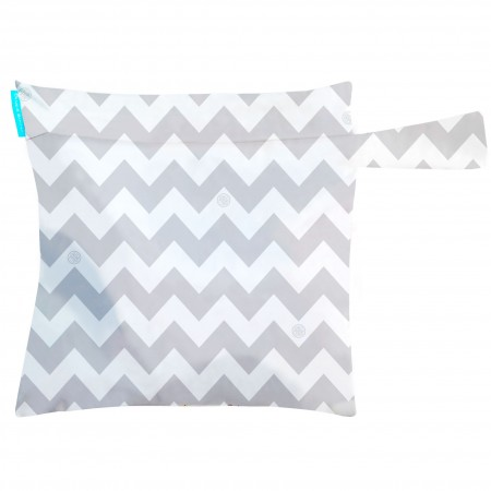 Charlie Banana Tote Bag Grey chevron