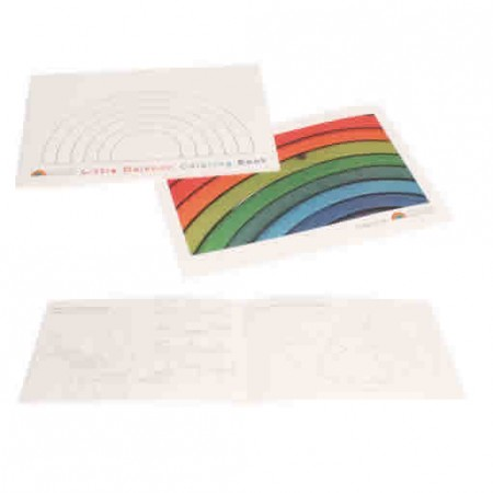 Grimm's Little Rainbow Colouring Book