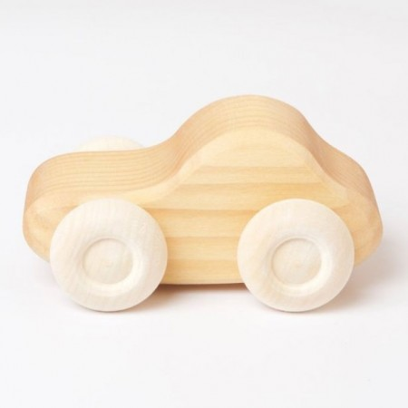 Grimm's Natural Wooden Cars Single