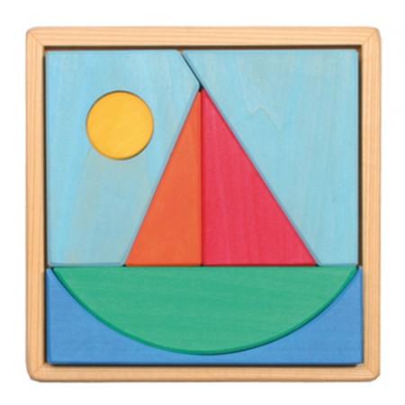 Grimm's Sailboat Puzzle
