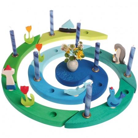 Grimm's Birthday Celebration Spiral