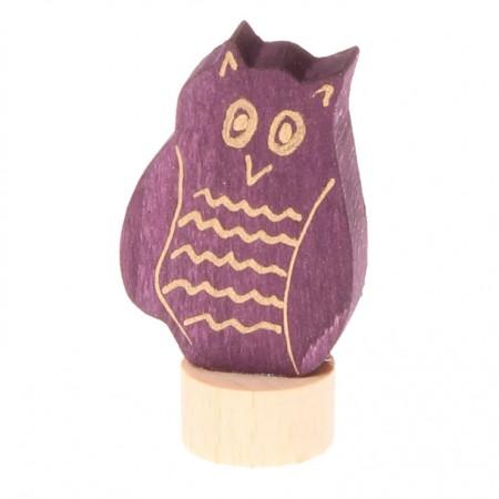 Grimm's Owl Decorative Figure