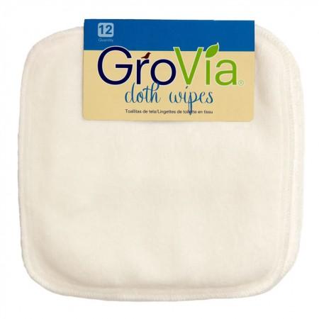 12 GroVia Cloth Wipes