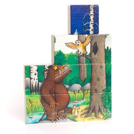 Bajo Gruffalo Double-Sided Puzzle