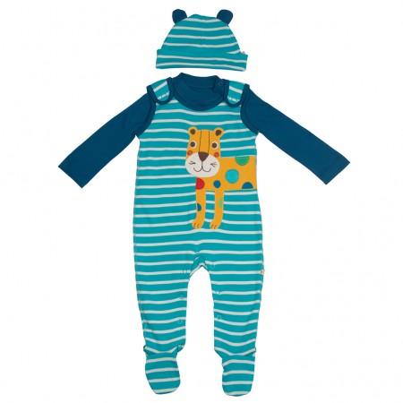 Frugi Leopard Snuggle Baby Gift Set