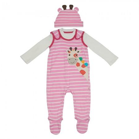 Frugi Giraffe Snuggle Baby Gift Set