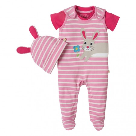Frugi Rabbit Snuggle Baby Gift Set
