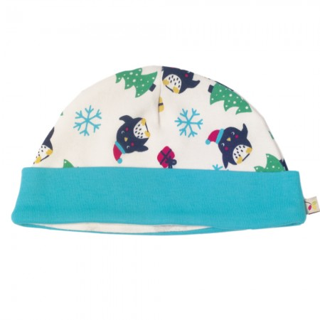 Frugi Penguin Party Lovely Hat