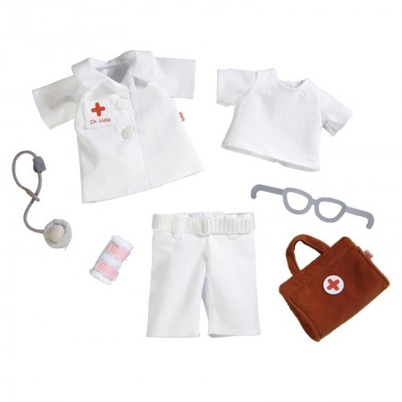 Haba Dolls Clothes - Doctor