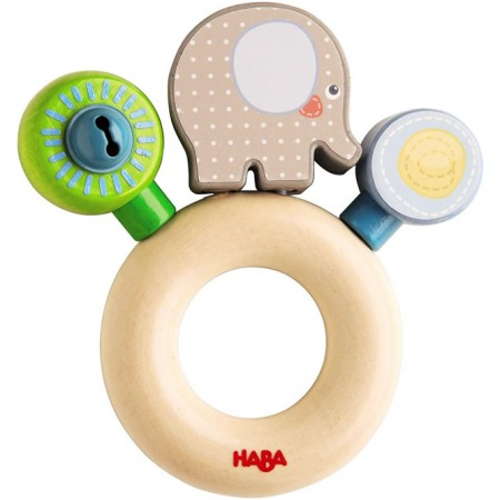 Haba Egon Elephant Clutch Toy