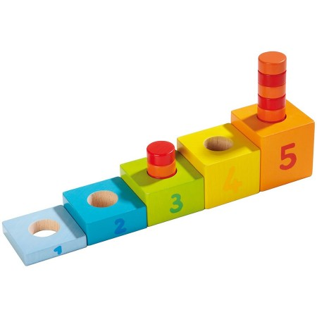 Haba Fantastic Number Tower Pegging Game