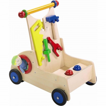Haba Carpenter Pixie Walker Wagon