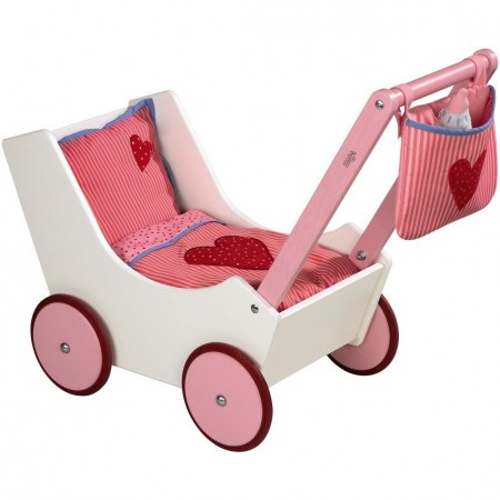 Haba Doll's Pram and Bottle