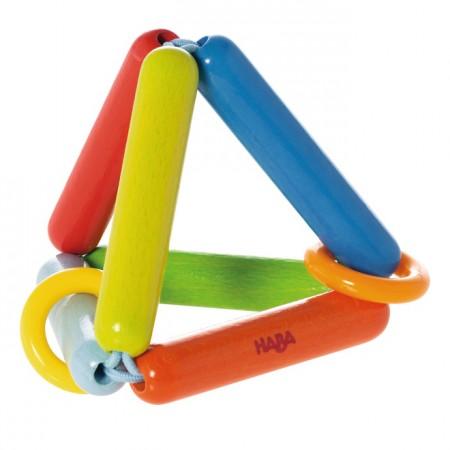 Haba Clutching Toy Rainbow Pyramid