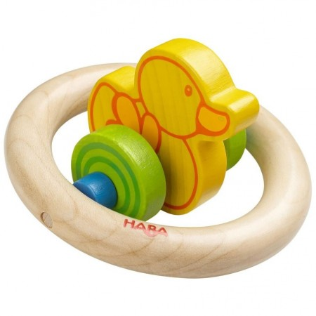 Haba Duckduck Clutch & Teething Toy