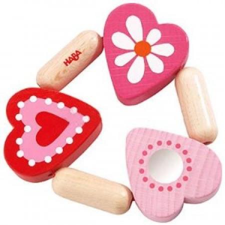 Haba Mimi Clutch & Teething Toy