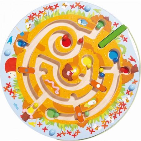 Haba Mole Maze Magnetic Game