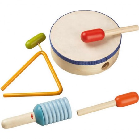 Haba Rhythm Percussion Set