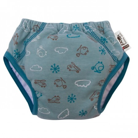 Close Parent Helicopter Print Training Pant