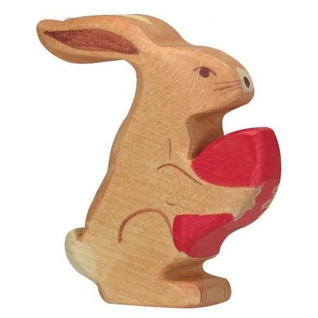 Holztiger Easter Hare Sitting