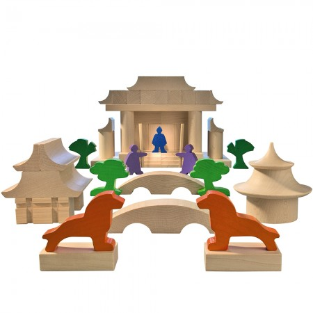 Haba Japanese Architectural Blocks