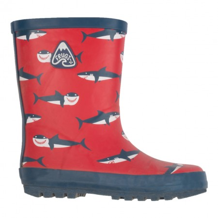 Frugi Hungry Sharks Puddle Buster Wellies