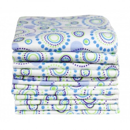 Imse Vimse Orbit Print Organic Baby Wipes