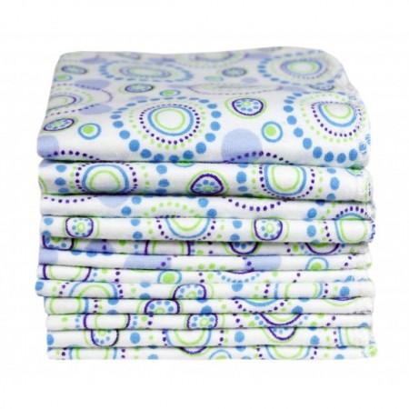 Imse Vimse Orbit Print Organic Baby Wipes