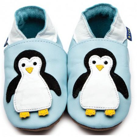 Inch Blue Light Blue Penguin Shoes