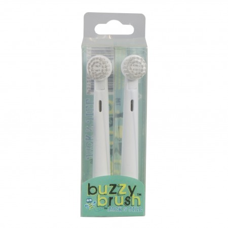 Jack N' Jill Replacement Heads for Buzzy Brush