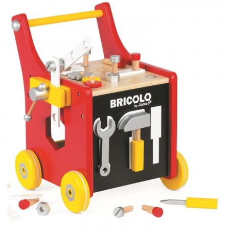 Janod Bricolo Magnetic DIY trolley