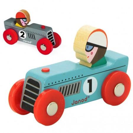 Janod Retro Racing Cars