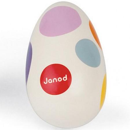 Janod Confetti Shaking Egg