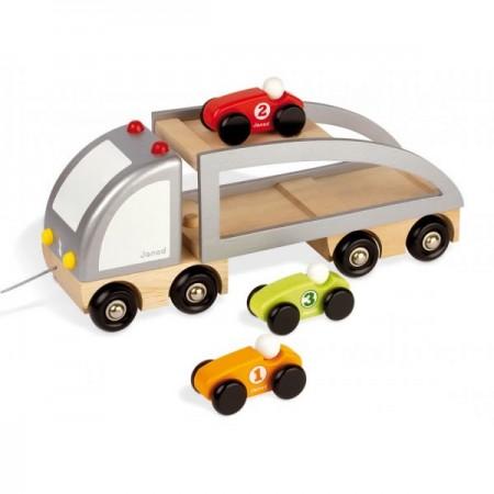 Janod Multi Cars Transporter Truck