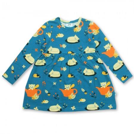 JNY Autumn Cat LS Body Dress