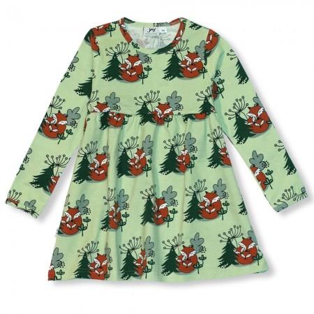 JNY Cuddling Foxes LS Sweetdress
