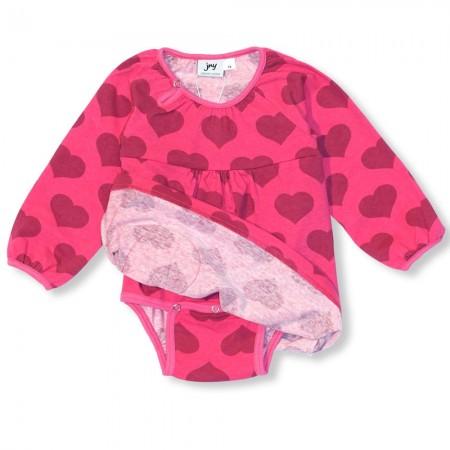 JNY Hearts LS Body Dress