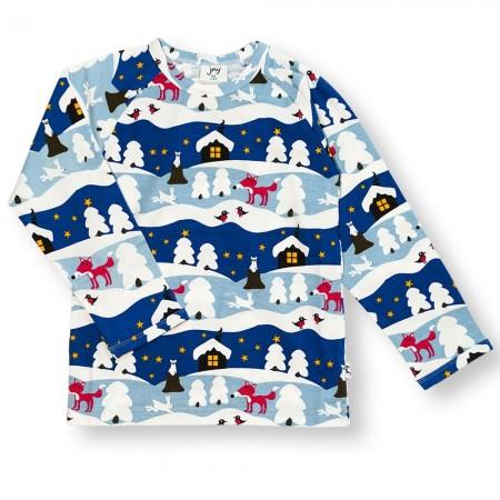 JNY Snowy Cottage LS Shirt