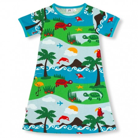 JNY Dolphin Island SS Dress