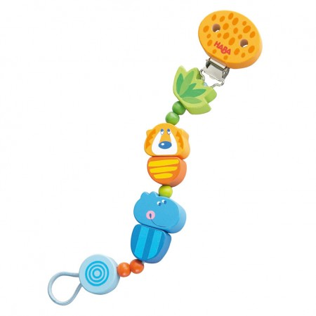Haba Jungle Caboodle Pacifier Chain