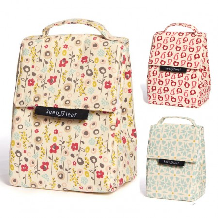Keep Leaf Insulated Lunch Bag
