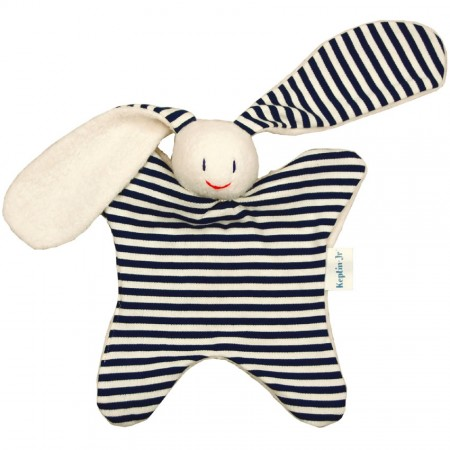 Keptin Jr 'Doggo' Stripe Comforter - blue