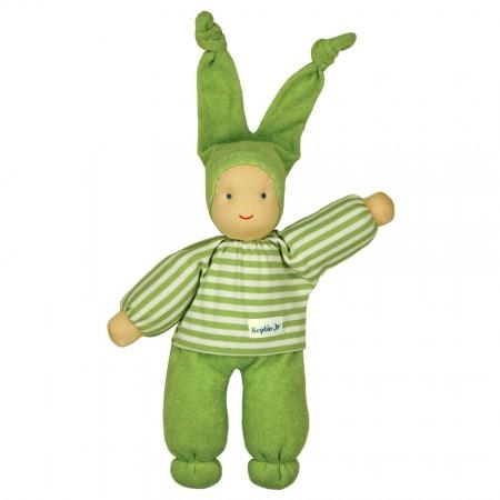 Keptin-Jr Green Organic Rag Doll