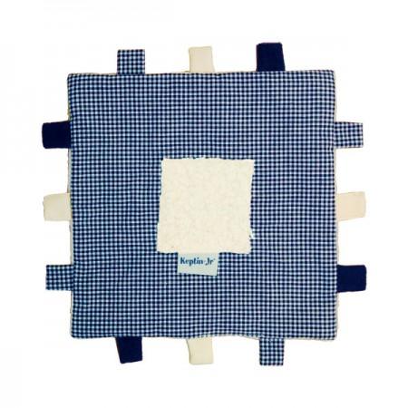 Keptin Jr Organic Tag Blanket Blue