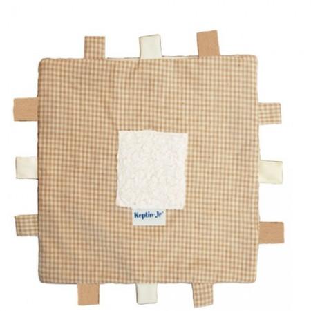 Keptin Jr Organic Tag Blanket Natural